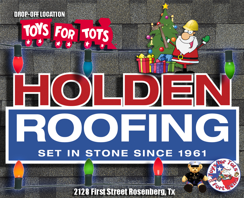 Holden Roofing Toys for Tots