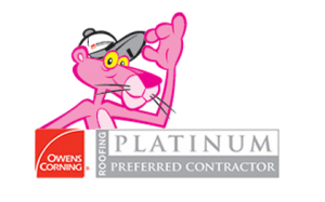 Owens Corning Platinum Preferred Contractor Logo