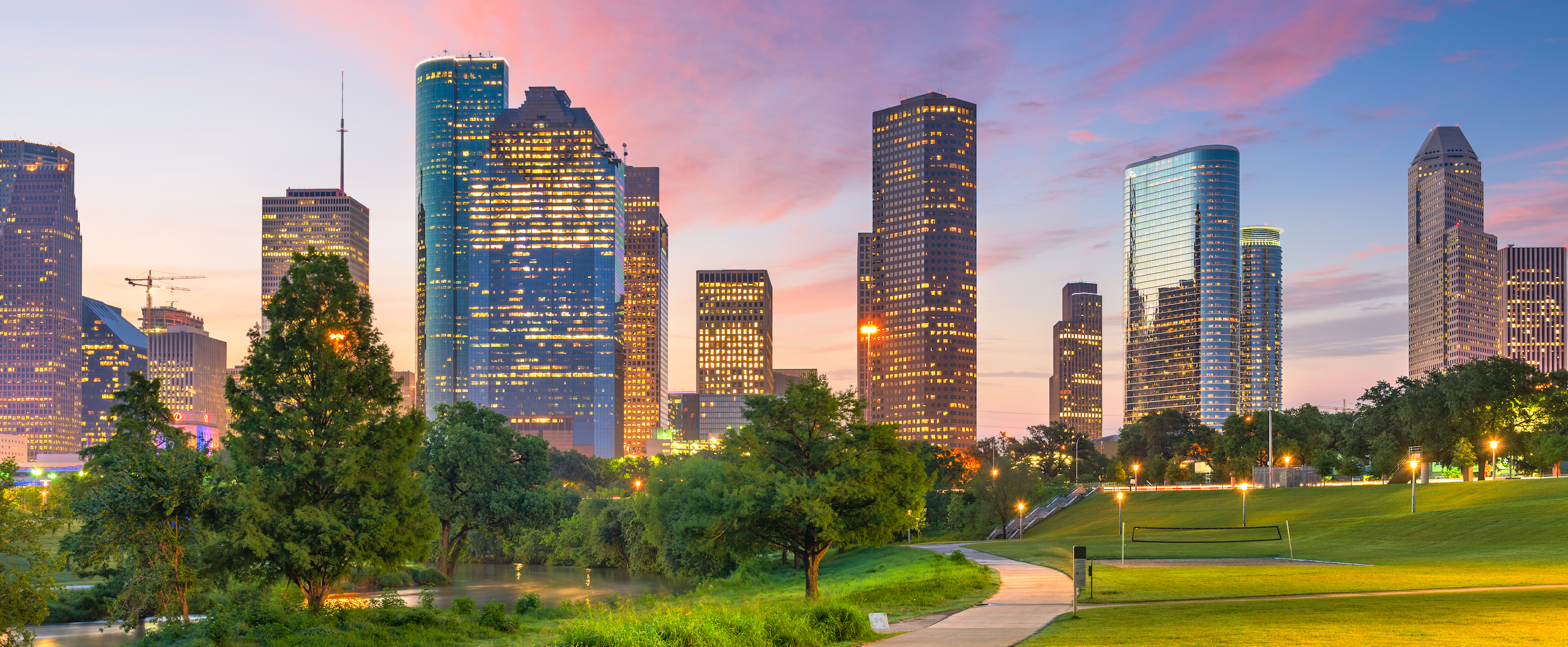 houston location header