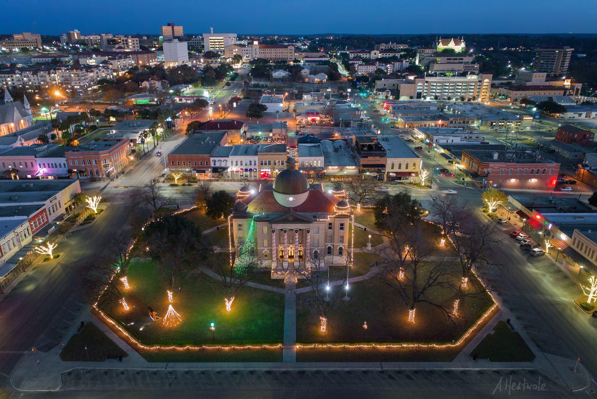 San Marcos Texas Aerial